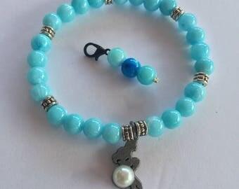 Little mermaid inspired bracelet