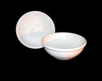 Vintage Buffalo China Bowls, Vintage Bowls, Buffalo Bowls, White Bowls, China Bowl, Side Dish Bowl, Dessert Bowls, Home Decor, China