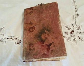 Cherub Junk Journal, Scrapbook, Mixed Media, Smashbook, mini album, prayer journal, art journal