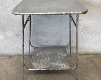 Industrial Metal Side Table (KALLYL)