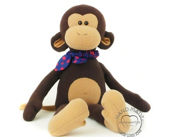 Stuffed monkey toy 38 cm (15 inch), monkey plush doll, stuffed toys, Stuffed animal