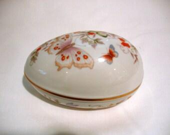 Vintage Avon Easter Egg Trinket Box
