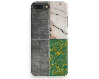 Marble iPhone Case, Style iPhone 6 Case, Trendy iPhone 7 Case, iPhone 7 Plus Case, iPhone 6S Plus, iPhone 4-5 Case iPhone SE Tile Phone Case