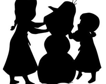 SVG, disney, frozen, elsa, anna, olaf, do you want to build a snowman, cut file, printable,  cricut, silhouette, instant download