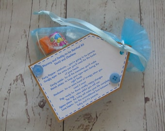 Personalised Mummy and Daddy-to-be Survival Kit - pregnancy - baby shower - mum-to-be - dad-to-be - baby gift