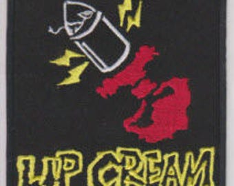 Lip Cream punk hardcore embroidered patch
