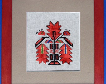frame etno hand embroidery