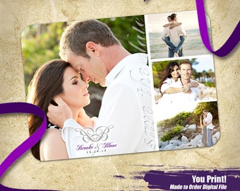 Wrapped in Love Save The Date, Printable Save the Date, Photo Save the Date Printable, Printable Photo Save the Date
