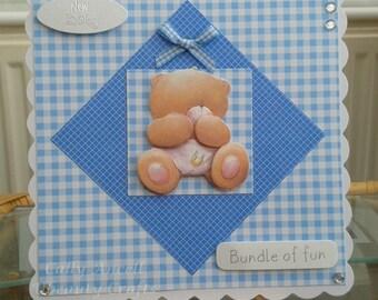 BC102 - Baby Boy Card