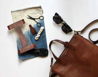 Mini Weaving Loom Travel Kit