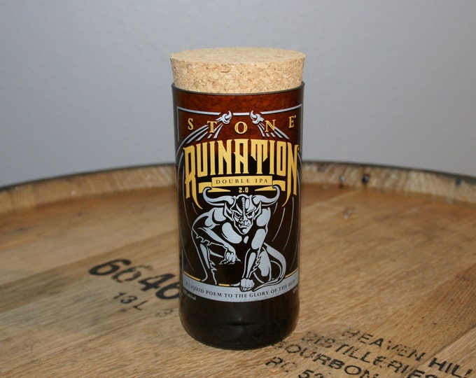 UPcycled Stash Jar - Stone Brewing Co. - Ruination Double IPA