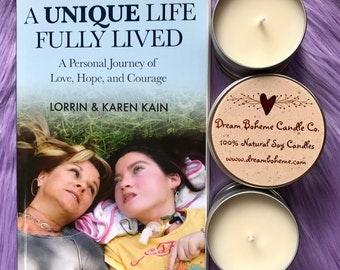 Lorrin Kain Candles||Honorary Scent||Chocolate Fudge
