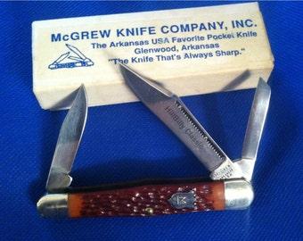 Vintage McGrew Pocket Knife NOS