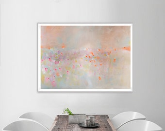 Home&Decor, Abstract Fine Art Print, abstract print, pink abstract,blue,
