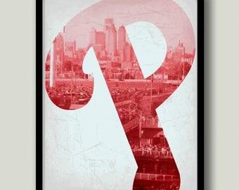 Philadelphia Phillies Printable Wall Art, Instant Download