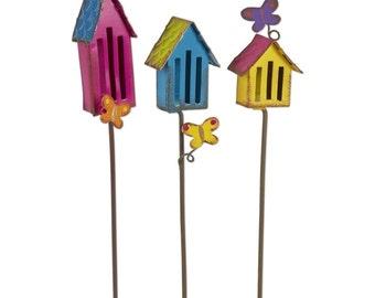 Butterfly House Picks - Set of 3