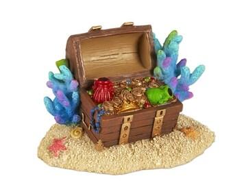 Fairy Garden  - Mermaid Treasure Chest - Miniature