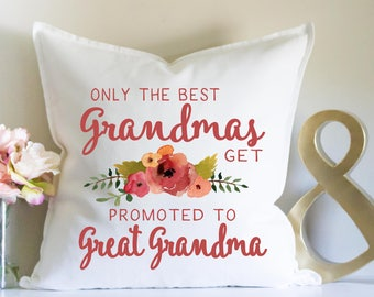 Only The Best Grandmas Get Promoted to Great Grandma, Grandma Gift, Gift from Grandchild, Mother's Day, Gift for Mom, Nana Gift, New Grandma