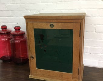 Industrial Vintage French Antique Reclaimed school Laboratory Lab Cabinet