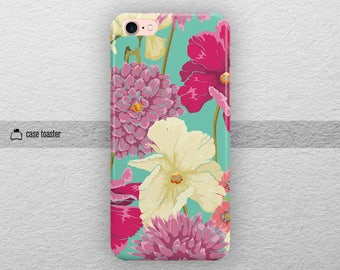 Floral - iphone 7 plus case iphone 7 case iphone 6S case iphone 6S plus case iphone 6 case iphone 6 plus case iphone se case iphone 5S case