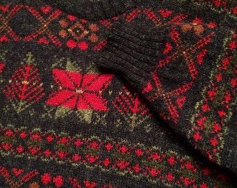 Vintage Wool Christmas Sweater