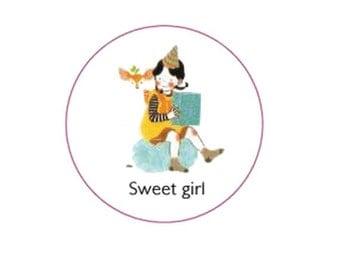 Sweet girl washi
