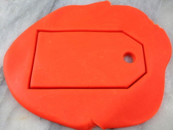 price tag tea bag cookie cutter outline sharp edges fast