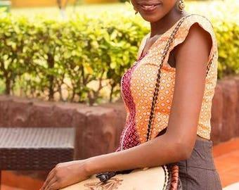 Afrique Leather Bag
