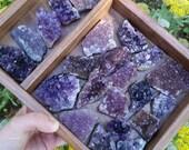 Amethyst Crystal Geode Cluster // Healing // Metaphysical // Meditation // Chakra // Reiki // Altar // Rocks // Gemstones // Zen