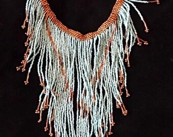 Cleopatra Beads Necklace Boho Luxe Paris Fashion Week Jewelry Art Home Decor Interior Design