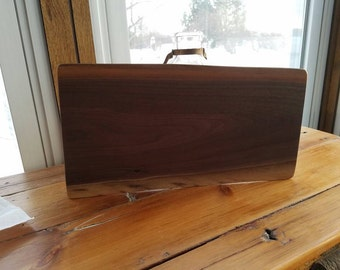 Natural Edge Black Walnut Cutting Board