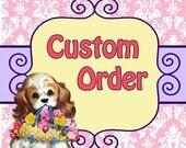 Cindy's Custom polka dot and daisy dress