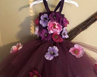 Toddler/child fair dress and headband