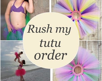 Rush my order, message me before please