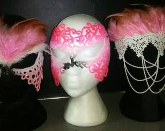 Flamingo masks (each)
