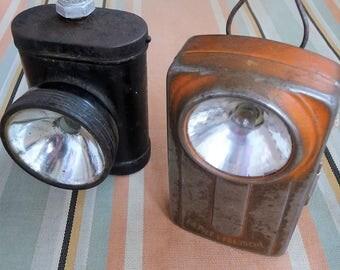 Vintage Lamps x 2