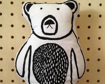 Cushion - Bear Cushion - Bear Print - Bear Pillow - Bear