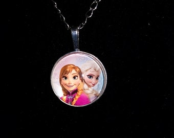 Disney's Frozen Anna and Elsa Pendant