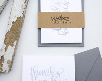 Handmade Cards - thanks bunches