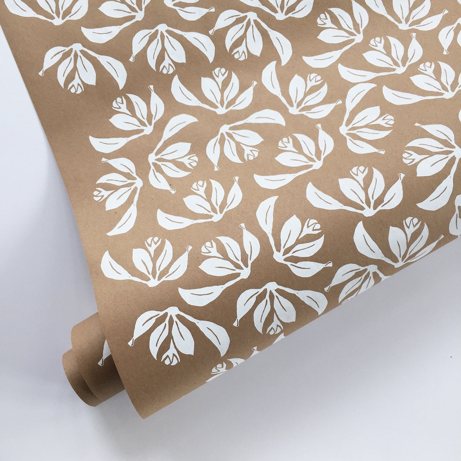 floral wrapping paper white wrapping paper roll kraft. Black Bedroom Furniture Sets. Home Design Ideas