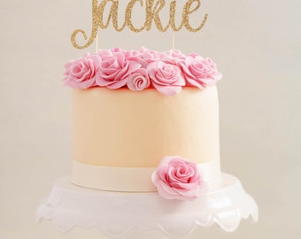 Custom Personalized Baptism Cake Topper  |  God Bless Cake Topper  |  Custom God Bless Cake Topper  |  Christening Cake Topper
