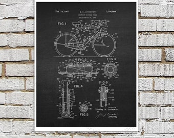 Bicycle Art print #6 black and White Wall Art, Biking art, Bicycle decor, Gift for bicyclist, biking gift, urban decor, gift for bicyclist