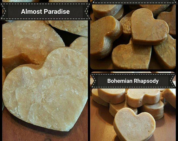 Handcrafted Soap Hearts