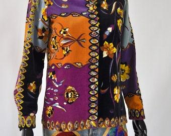 1960s Emilio Pucci Velvet Blazer