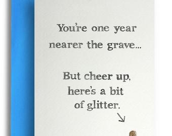 Bit of Glitter Card