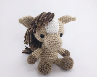 Amigurumi Mini Pony : Abby The Horse Amigurumi Pattern Pony Crochet Pattern home