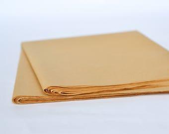 Tissue Paper, 48 Kraft Tissue Paper Sheets, Brown Kraft Tissue Paper, Recycled Tissue Paper, Bulk Tissue Paper, Anti Tarnish Paper Packaging