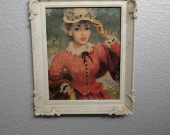 The Victorian Lady Wall Hanging