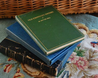 FREE SHIPPING! - Antique Poetry Book - Old Kentucky Rhymes by M. Bettie Bell - First Edition - Original 1906 Printing -Rare Collectible Book