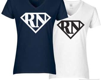 Registered Nurse Shirt, RN Super Hero Shirt - 253